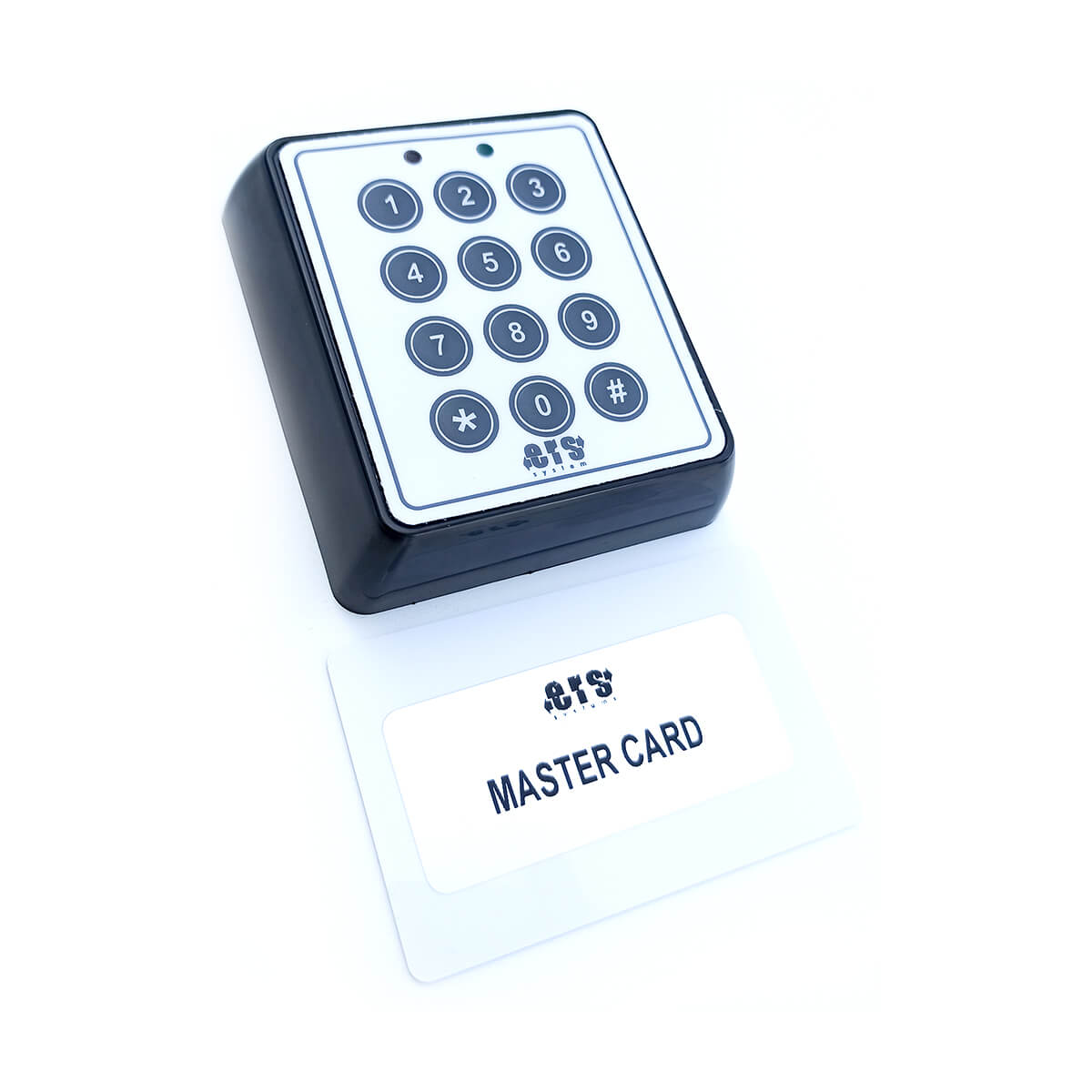 Keypad With Ingtegrated Card Reader