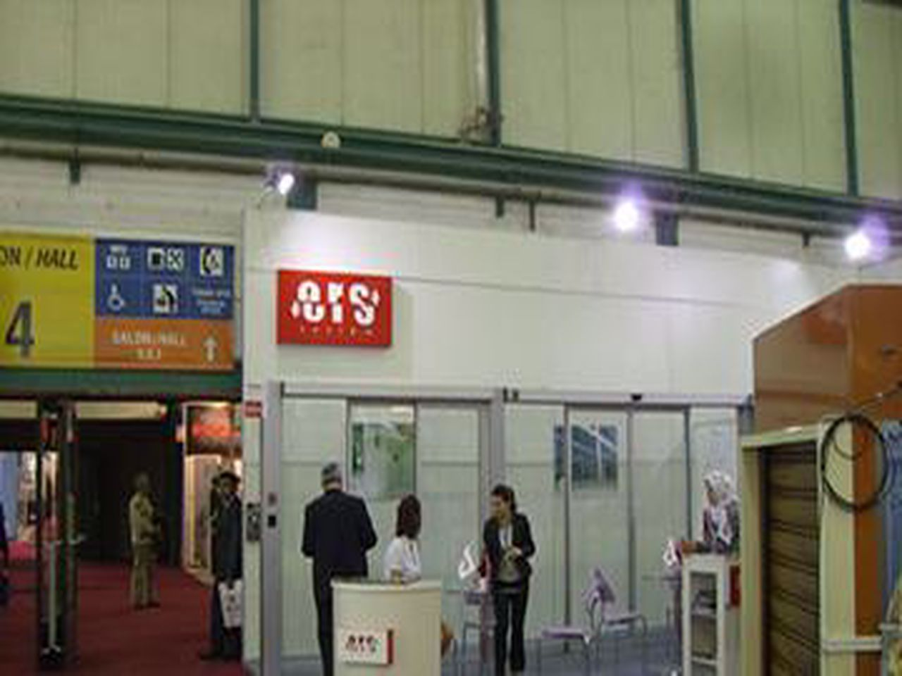 We were at the 2011 Istanbul TUYAP Door Fair.