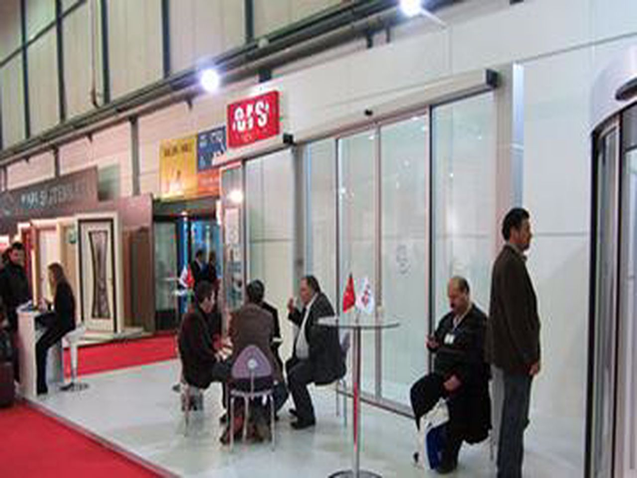 We were at the 2012 Istanbul TUYAP Door Fair.