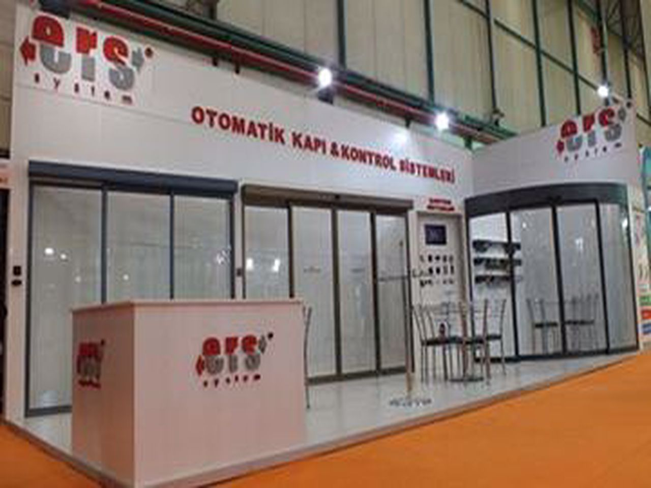 We were at the 2013 Istanbul TUYAP Door Fair.