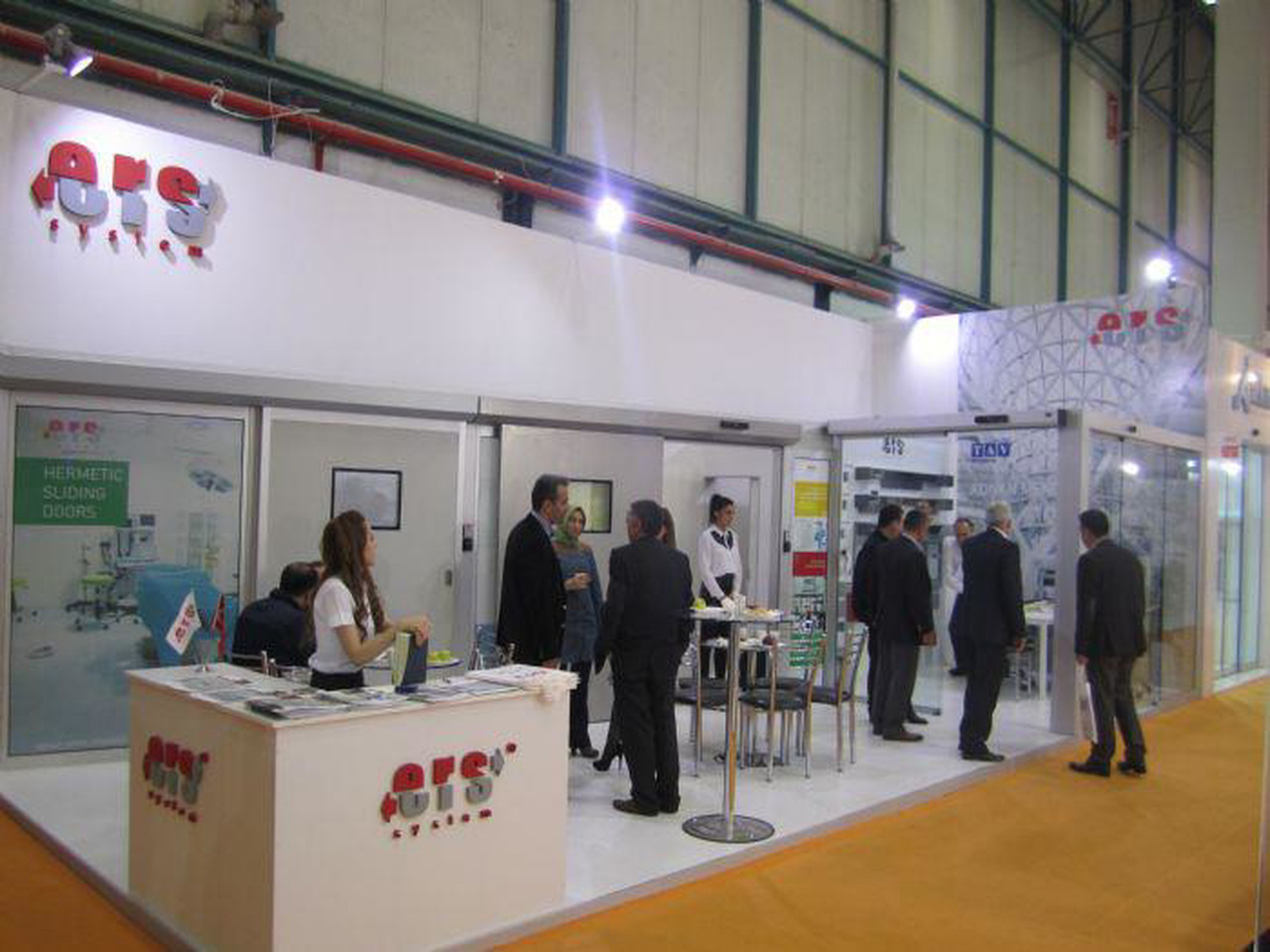 We were at the 2015 TUYAP Istanbul Door Fair.