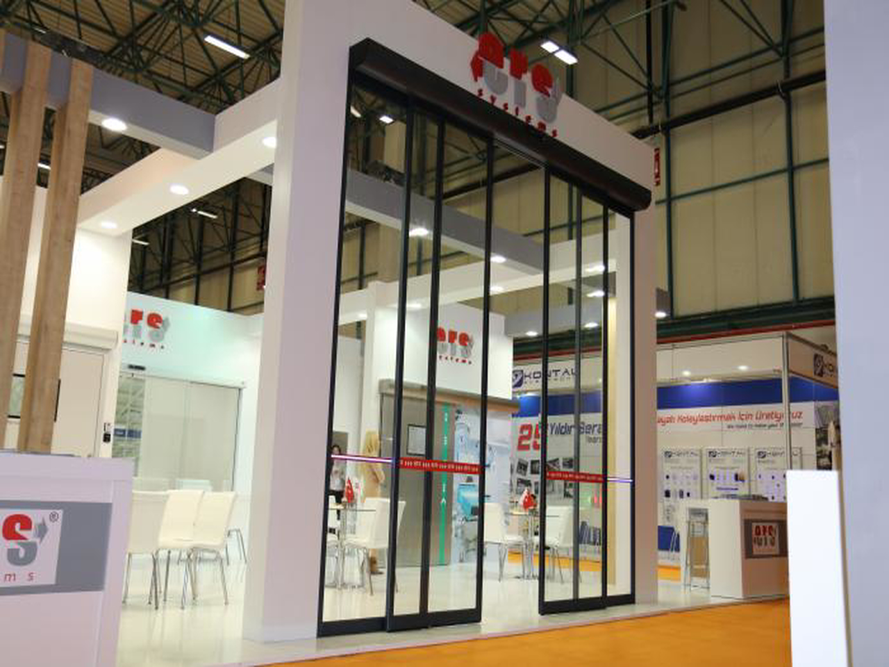 We were at the 2017 Istanbul TUYAP Door Fair.