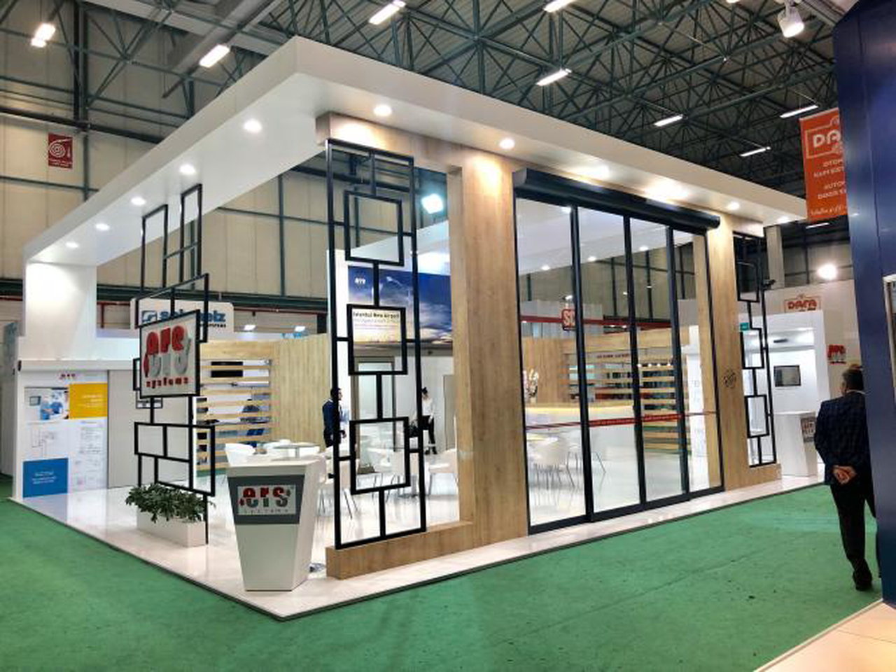 We were at the 2018 TUYAP Istanbul Door Fair.