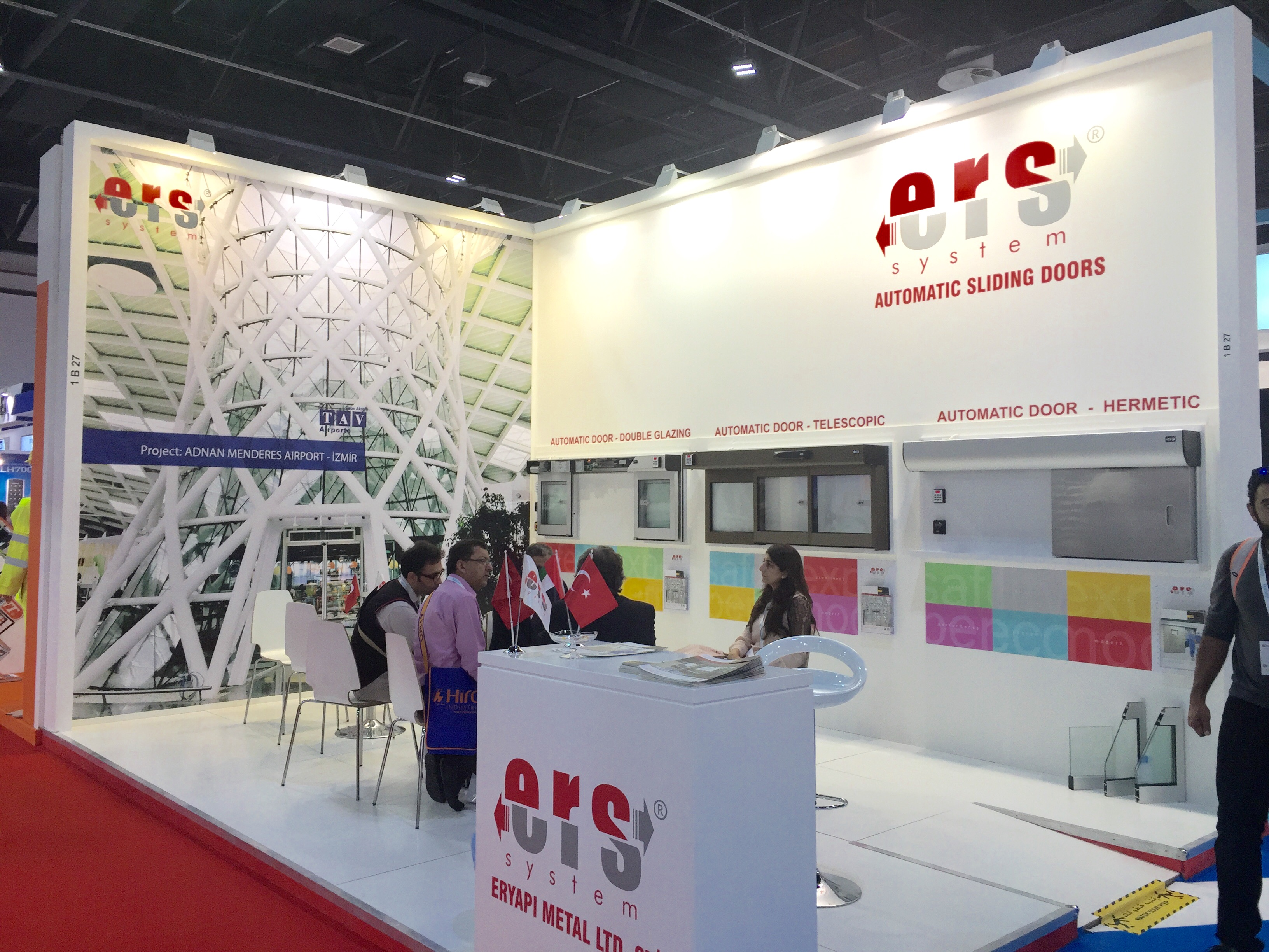 ERS System Difference in Dubai The Big 5 Fair